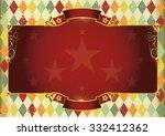 horizontal rhombus vintage... | Shutterstock .eps vector #332412362
