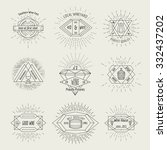 winemaking and winehouse labels | Shutterstock . vector #332437202