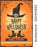 halloween costume party. | Shutterstock .eps vector #332441852
