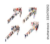 people diversity together we... | Shutterstock . vector #332470052