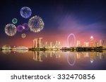 Beautiful Fireworks In Marina...