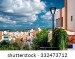 Ibiza Town Rooftops. Balearic...