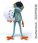 fun frog   Shutterstock . vector #332493638