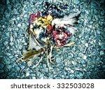 road kill | Shutterstock . vector #332503028