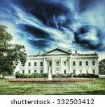 the white house  washington dc | Shutterstock . vector #332503412