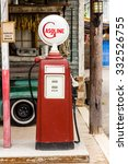 The Aged And Worn Vintage Gas...