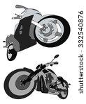 motos vector | Shutterstock .eps vector #332540876