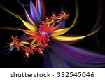 Exotic Flowers. Abstract...