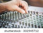 sound mixer   Shutterstock . vector #332545712