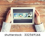 people  multimedia and... | Shutterstock . vector #332569166