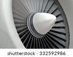 Jet Engine  Turbine Blades Of...