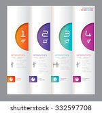 infographic design template can ... | Shutterstock .eps vector #332597708