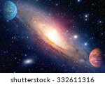 astrology astronomy outer space ... | Shutterstock . vector #332611316