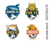 football badge logo template...   Shutterstock .eps vector #332704175