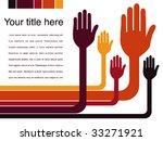 hand design vector. | Shutterstock .eps vector #33271921