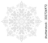 oriental vector pattern with... | Shutterstock .eps vector #332726972