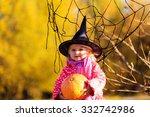 Little Girl In Halloween...
