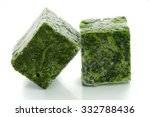 Blocks Of Frozen Spinach