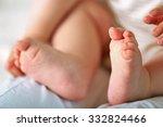 baby hands and feet  closeup   Shutterstock . vector #332824466
