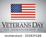 veterans day. honoring all who... | Shutterstock .eps vector #332829188