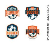 football badge logo template... | Shutterstock .eps vector #332842148