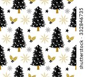 Christmas Pattern With Tree ...
