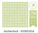 arrow setarrow set icon. simple ... | Shutterstock .eps vector #332851016