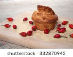corn bread   organic homemade... | Shutterstock . vector #332870942