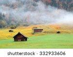 Autumn Scenery Of Bavarian...