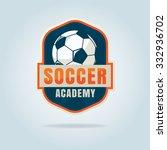 football badge logo template... | Shutterstock .eps vector #332936702