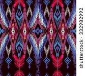 seamless oriental decor. ethnic ... | Shutterstock .eps vector #332982992