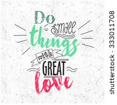 quote typographical background  ... | Shutterstock .eps vector #333011708