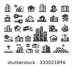 house vector logo design... | Shutterstock .eps vector #333021896
