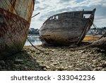 Постер, плакат: ships graveyard old shipwreck