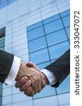 business handshake.   Shutterstock . vector #333047072