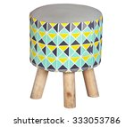 stool for small kids isolated... | Shutterstock . vector #333053786
