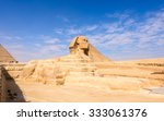 great sphinx of giza  a... | Shutterstock . vector #333061376