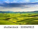 Tuscany Spring  Rolling Hills...