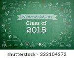 graduation congratulations... | Shutterstock . vector #333104372
