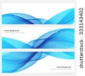 abstract template horizontal... | Shutterstock .eps vector #333143402