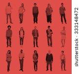 diverse people happiness... | Shutterstock . vector #333148472