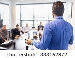 business man making a...   Shutterstock . vector #333162872