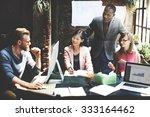 business team corporate... | Shutterstock . vector #333164462