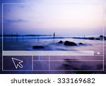 interface template web page... | Shutterstock . vector #333169682