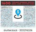 geo targeting raster icon and... | Shutterstock . vector #333196106