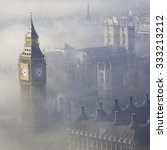Palace Of Westminster In Fog ...