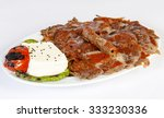 traditional turkish dishes | Shutterstock . vector #333230336