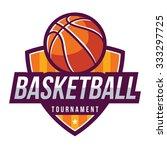 basketball logo  american logo...   Shutterstock .eps vector #333297725