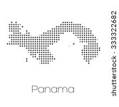 a map of the country of panama   Shutterstock .eps vector #333322682
