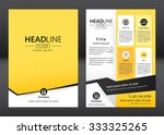 brochure template design.... | Shutterstock .eps vector #333325265
